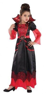Lady Lorena Vampir Kostüm für Kinder NEU