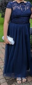 Navy Chi Chi Bealey Dress for Bridesmaid