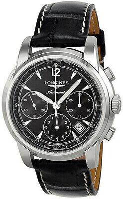 Longines The Saint-Imier Black Dial 41mm Men's Watch L2.752.4.52.3