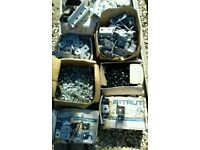 Heavy Galvanised Racking lengths+galvanised brackets+high tensile bolts