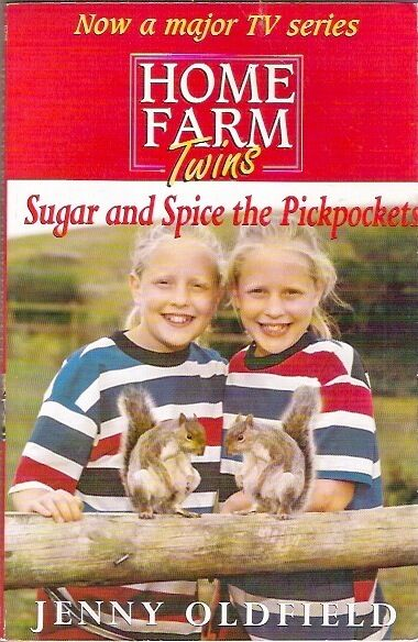HOME FARM TWINS SUGAR & SPICE PICKPOCKETS Jenny Oldfield collectable 2000 1st pb
