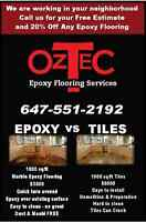 UPGRADES TO GARAGE OR BASEMENT? CONSIDER EPOXY FLOORING!
