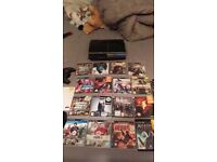 ps3 40gb with games and 3 controllers for sale