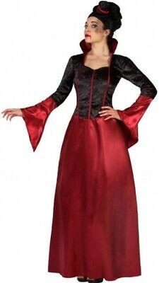 Déguisement Femme VAMPIRE Médiévale XXL Halloween Dame Vampiresse NEUF