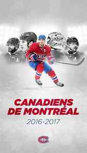 HABS VS FLAMES - 4 SEANTS IN THE REDS - JAN 24th