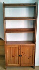 Ikea Leksvik Bookcase / Bookshelves with doors, 2 available
