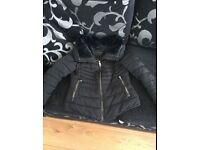Zara Padded Coat size 8/10