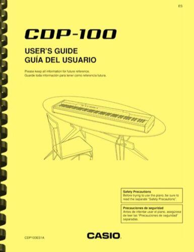 Casio CDP-100 Keyboard USER