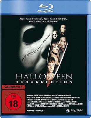 HALLOWEEN RESURRECTION Jamie Lee Curtis 2002  BLU-RAY Neu (Jamie Lee Curtis Halloween Resurrection)