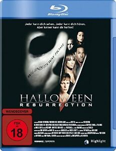 HALLOWEEN-RESURRECTION-Jamie-Lee-Curtis-2002-BLU-RAY-Nuevo