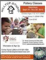 Kids' Pottery Classes in Brockville