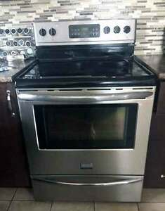 Stainless steele Fridge and Stove - sold to best offer!