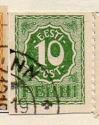 Estonia 1919 Early Issue Fine Used 10p. 103486