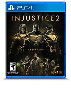 Injustice 2 Legendary Edition - PS4 - Brand New