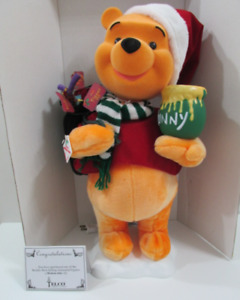 "Winnie The Pooh Christmas Figurine 22"" Electric Vintage OBO"