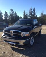 2012 Dodge Power Ram 1500 Black Pickup Truck