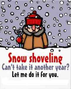 SNOW SHOVELING DONE FOR YOU Kitchener / Waterloo Kitchener Area image 1