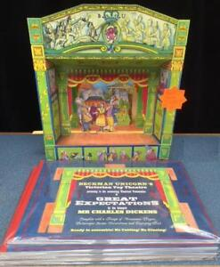 Cardboard Victorian Toy Theatre Great Expectations Charles Dickens No Cutting!