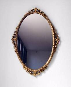 Ornate Gold French Provincial Mirror Varsity Lakes Gold Coast South Preview