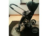 Graco pushchair and carseat.