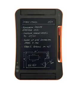 Boogie Board ST1020001 Sync 9.7-Inch LCD eWriter, Black/orange