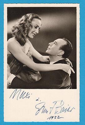 Maxi Herber (Baier) (†) (GER) & Ernst Baier (†)  - Eiskunstlauf - # 10250