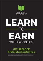 Learn to Earn with H&R Block
