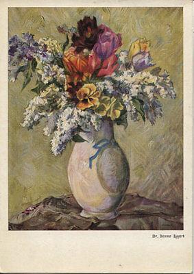 Alte Kunstpostkarte - Dr. Benno Eggert - Blumenstrauß
