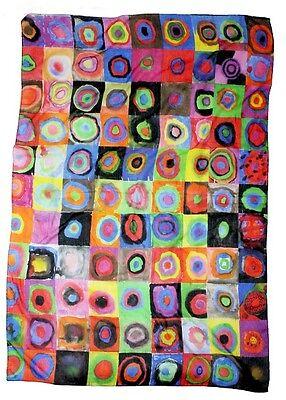 Art Collection Schal, Tuch, Accessoires #Kandinsky - Color Study 100x140 cm