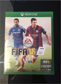 Brand new Fifa 15 game for Xbox 1
