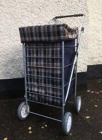 Shopping Trolley - 4 wheel