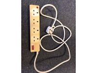 Power extension lead, good condition
