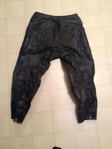 LEATHER MOTORCYCLE RACING MOTOCROSS MX PANTS Belleville Belleville Area image 4