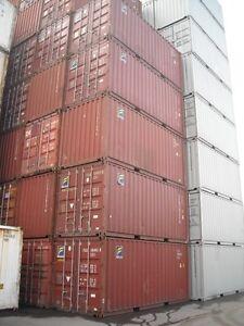 Conteneurs maritime à vendre pour entreposage