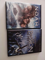 Passion of the Christ & Noah DVD movies (combo)