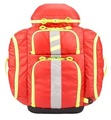 New Statpacks G3 Perfusion Medic Backpack Bag Red Stat Packs