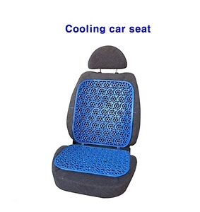cooling car seat blue chair car cushion support ebay. Black Bedroom Furniture Sets. Home Design Ideas