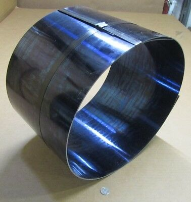 Blue Tempered Spring Steel Shim 0.032 Thick X 10.0 Width X 120 Length M