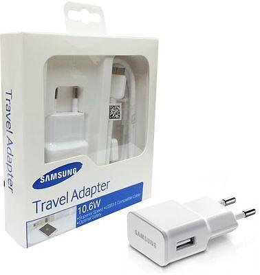 Cargador original de viaje (10.6W) con el cable usb para samsung s6...