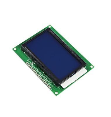 2pcs 5v 12864 Lcd Display Module 128x64 Dots Graphic Matrix Lcd Blue Backlight Y