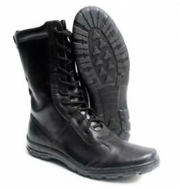 Tactical, army boots. The Russian Army. Summer.