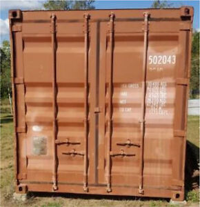 20ft shipping container Sunshine Acres Fraser Coast Preview