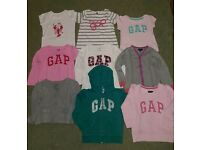 Joblot of Gap kids tops and jacket
