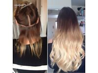 TAPE IN HAIR EXTENSION STYLIST.