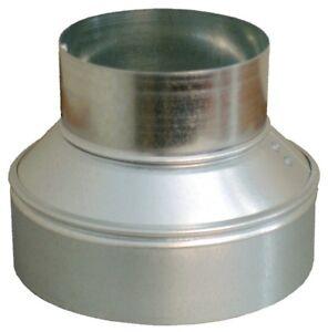 16x12 Round Duct Reducer 16