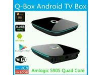 Q ANDROID TV BOX. HD IPTV. MXQ 3D AND 4K ULTRA