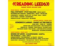 2 x LEEDS FESTIVAL WEEKEND TICKETS + 2 x EARLY ENTRY PASSES + 2 x SEAT OF LUXURY (SOLD OUT!!) PASSES