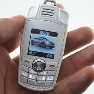 NEW KEY FOB MOBILE PHONE WHITE UNLOCKED CAR WORLDS SMALLEST BM 2016 MODEL  X6