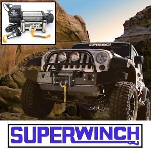 NEW SUPERWINCH 9500 LBS WINCH 1595200 136212833 TIGER SHARK OFF ROAD VEHICLE RECOVERY WINCHES PULLEY TOW TOWING ACCES...