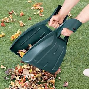 NEW ~ Leaf Rake Tool Lawn Leaves Grass Hands Claws Garden Yard Collector